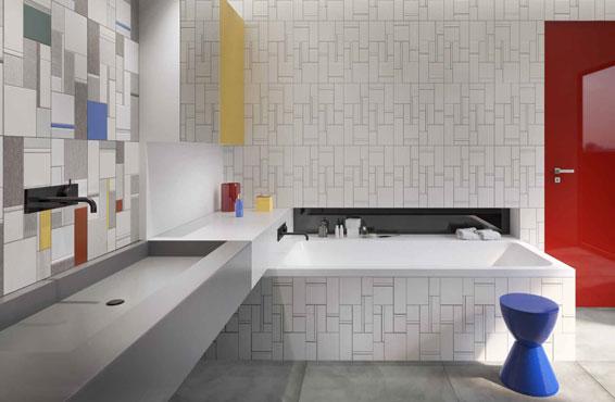 Stock piastrelle torino gallery of muro di mattoni bianco della